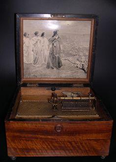 44 Best Antique Music Box images | Antique music box
