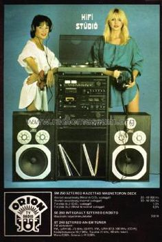 Audio Vintage, Vintage Records, Vintage Ads, Radios, Orion Tv, Big Speakers, Audio Sound, Best Ads, Tape Recorder