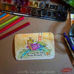 Gnihi, auch so kann ein nach Foto gemaltes Haustierportrait dann am Ende aussehen - kommt halt ganz auf den Wagemut der Kunden an!   #wandklex #auftragskunst #Auftragsmalerei #kunstatelier #aquarell #hahnemühle #kunst #art #etsy #watercolor #watercolours #watercolour #watercolors #etsyresolutionDE #etsyresolution2016 #wip #studio #agame #drache #bartagam #echse #reptile #reptil #reptilien #terrarium #westentaschenkunst #petportrait #painting #pet #comission #custompaint