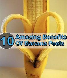 SURPRISING USES OF BANANA PEELS