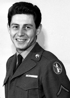 """Edwin Jack """"Eddie"""" Fisher (born Edwin Jack Tisch - August 10, 1928 – September 22, 2010) was an American entertainer. Fisher was drafted into the U.S. Army in 1951, sent to Texas for basic training, and served a year in Korea. From 1952 to 1953, he was the official vocal soloist for The United States Army Band and a tenor section member in the United States Army Band Chorus assigned at Fort Myer in the Washington, D.C. Military District."""