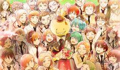 Znalezione obrazy dla zapytania anime klasa zabójców