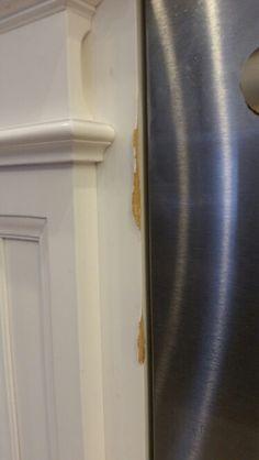 Water damage on press wood kitchen cabinets wood kitchen - How to repair water damaged kitchen cabinets ...