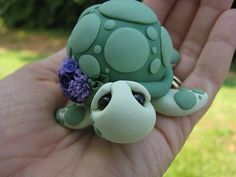 Pastel de bodas Toppers amor tortugas hechas a mano