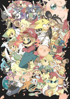 Super Smash Bros Brawl fan art