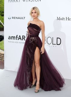 At the amFAR gala