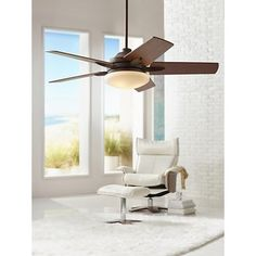"52"" Casa Endeavor® Oil Rubbed Bronze Ceiling Fan"