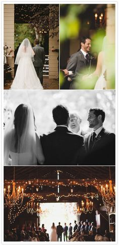Rainy California barn wedding   http://www.100layercake.com/blog/2012/03/08/rainy-california-barn-wedding-danielle-linus/