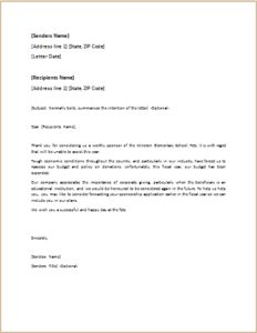 Disagreement Letter Download At HttpWwwTemplateinnCom