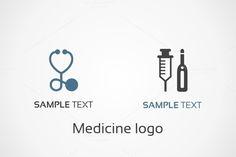 Medicine logo by Vector30.com on Creative Market