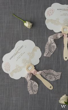 Beautiful Pink Vintage Lace Wedding Hand Fans | DIY Tutorial | Handmade Wedding | Vintage Wedding