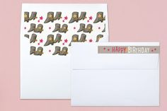 Old West Children's Birthday Party Invitations