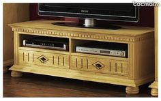 Comoda TV lemn masiv de rasinoase