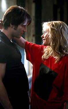 The sweet ole days of Bill & Sookie. <3