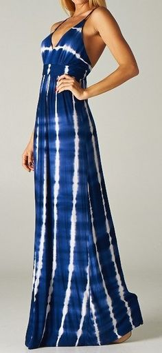 Tie Dye Maxi,.........So wish I was tall and skinny to wesr this!!