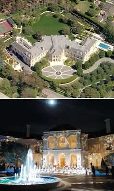 10 of the World's Most Insanely Luxurious Houses- 8. The Manor, Los Angeles – Aaron Spelling dream house.