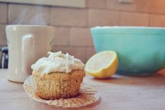 Earl Grey Cupcake with Lemon Earl Grey Buttercream