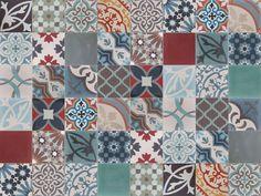 patchwork 100 - Marrakesh Cementlap