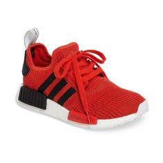 Women's Adidas 'Nmd - R1' Running Shoe ($130) ❤ liked on Polyvore
