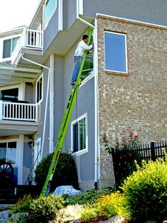 Use your extension ladder safely! Visit our blog to learn more #laddersafety tips. Little Giants, Pick Up In Store, Get The Job, Ladder, Indoor Outdoor, Type, Green, Stability, Safety