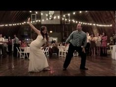 This will be me and my dad! Not even kidding! Best father daughter dance ever!