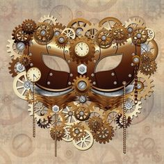 NEW #Steampunk #Carnival #Party #Mask #Vector on #Graphicriver - by BluedarkArt​  http://graphicriver.net/item/steampunk-carnival-party-mask/10358079?WT.ac=portfolio&WT.z_author=Bluedarkat