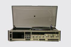 Salora HiFi-stereo 6600, Finland 1979. Hifi Stereo, Record Players, Vintage Records, Turntable, Finland, Childhood, Retro, Design, Record Player