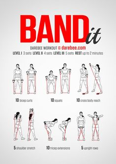 Band It Workout Yoga Fitness - amzn.to/2hmQneS Get Your Sexiest Body Ever! http://yoga-fitness-flow.blogspot.com?prod=RPwwYTpq