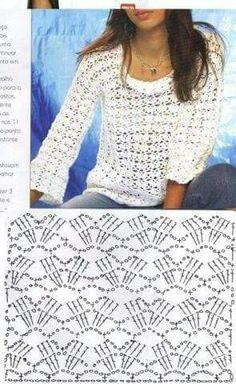 Fabulous Crochet a Little Black Crochet Dress Ideas. Georgeous Crochet a Little Black Crochet Dress Ideas. Gilet Crochet, Crochet Jacket, Freeform Crochet, Crochet Diagram, Crochet Cardigan, Blanket Crochet, Mode Crochet, Diy Crochet, Crochet Top