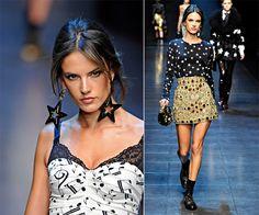 Moda é Criatividade: Alessandra AmbrósioA modelo brasileira começou su...