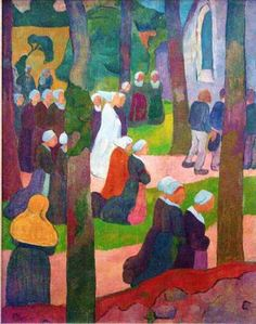 Paul Sérusier (9 November 1864 – 7 October 1927) was a French painter who was a pioneer of abstract art and an inspiration for the avant-garde Nabi movement, Synthetism and Cloisonnism.