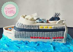 Cruise ship cake by DocurasdaPatty