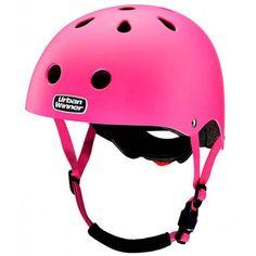 Pink UrbanWinner cykelhjelm m. lys #PinkHjelm #PigernesValg #CykelhjelmTilPiger #UrbanWinner #PinkCykelhjelm #PinkSkaterHjelm #Hjelm #Skater #Cykel #Sikkerhed #SikkerTrafik #HuskDinHjelm