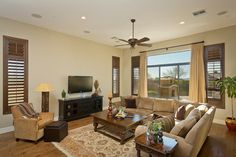 transitional family room | All Rooms / Living Photos / Family Room