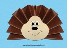 Autunno una categoria dedicata a questa stagione che vi propone tanti lavoretti e disegni a tema, facili e veloci da realizzare. Animal Crafts For Kids, Fall Crafts For Kids, Diy And Crafts, Arts And Crafts, Paper Crafts, Fall Harvest, Autumn, Towel Crafts, Work With Animals