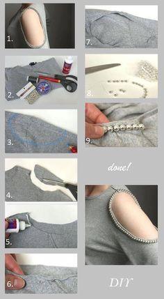 Blusa con accesorio