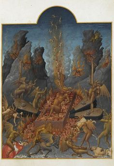 Limbourg Brothers, Hell, 1412-16