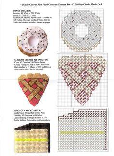 Donut, Pie & Cake Coasters