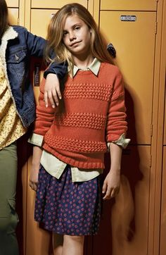 Tucker + Tate Sweater, Top & Skirt (Big Girls)  available at #Nordstrom