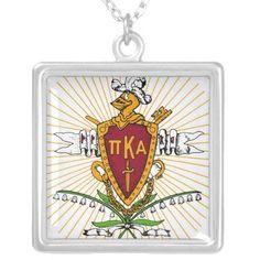 PKA Crest Color Weathered Custom Necklace
