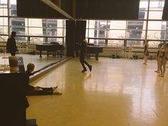 Michele Wiles and Jay Donn instruct at a Ballet in Cleveland master class.