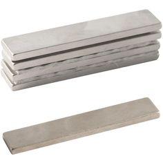 Compra nuestros productos a precios mini Imanes neodimio rectangulares - 40 x 8 mm - 5 uds - Entrega rápida, gratuita a partir de 89 € !