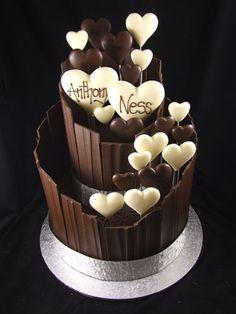 the Adelaide cake specialists :: Engagement Cakes Adelaide Cupcakes, Cupcake Cakes, 7 Cake, Pretty Cakes, Beautiful Cakes, Amazing Cakes, Valentine Desserts, Valentine Cake, Chocolate Desserts