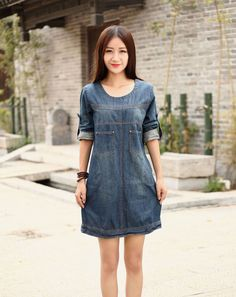 ^_^ ***** ***★*** Dear customer ! Thank you for visit my shop ^_^ ***** ***★*** Item Description:  ▶ This dress is casual loose style !!! Comfortable,