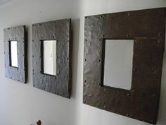 """(RS 31) Mirrors. Dimensions L500 x H600mm.  Price R598 for this size! Can be ordered in dimensions of your choice and in """"rustic"""", """"whitewash"""" or """"shabby chic"""" finishes! You are welcome to come see us at 26 Nuwevlei Street, Paarl, Western Cape, direct behind the Paarl Mall, contact us at Roes  Skroef 0218632371, 0835143382 Paarl, or e-mail humanr@telkomsa.net for a current exclusive pricelist with photos and measurements."""
