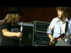 """Call Me The Breeze"" - Lynryd Skynyrd ... live at Knebworth Fair Festival, England in 1976 / RIP Ronnie Van Zant"