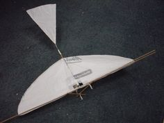 This instructable will show you how to make a nifty flying model known as an ornithopter from cheap to free stuff. An ornithopter is a lot like a model airplane, but it flaps its wings like a bird or an insect, and is a lovely sight to watch in flight. This is pretty easy to build; you really only have to make sure the bearings are all parallel. Everything else can be crooked and this will STILL fly just fine. It is also VERY sturdy and can take many, many crashes without breaking. As an…