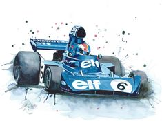 Self-taught, Belgian automotive artist, Nicolas Cancelier, has been painting since he was three years old, due to influence from his artist parents, but it wasn't until he was twelve that he fell in love with motorsport when attending an F1 GP event at Zolder in Belgium.