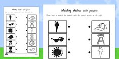This handy worksheets / worksheet gives your children the opportunity to show how much they've learned about this topic. Matching Worksheets, Pictures To Draw, Your Child, Seaside, Learning, Children, Summer, Young Children, Boys