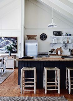 1000 ideas about lake house kitchens on pinterest lake for Decoration bord de mer maison